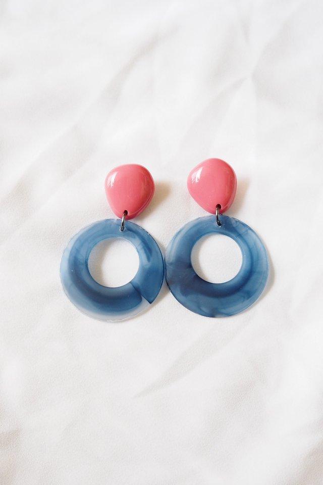 Cassan Earstuds (Blue)