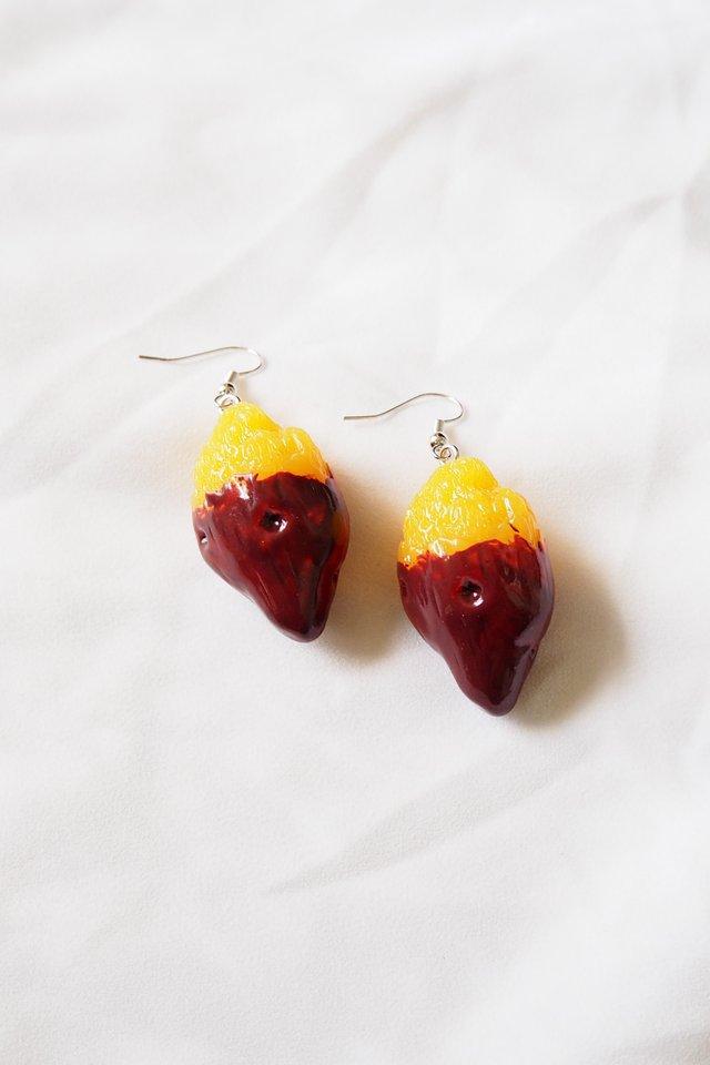 Sweet Potato Earrings
