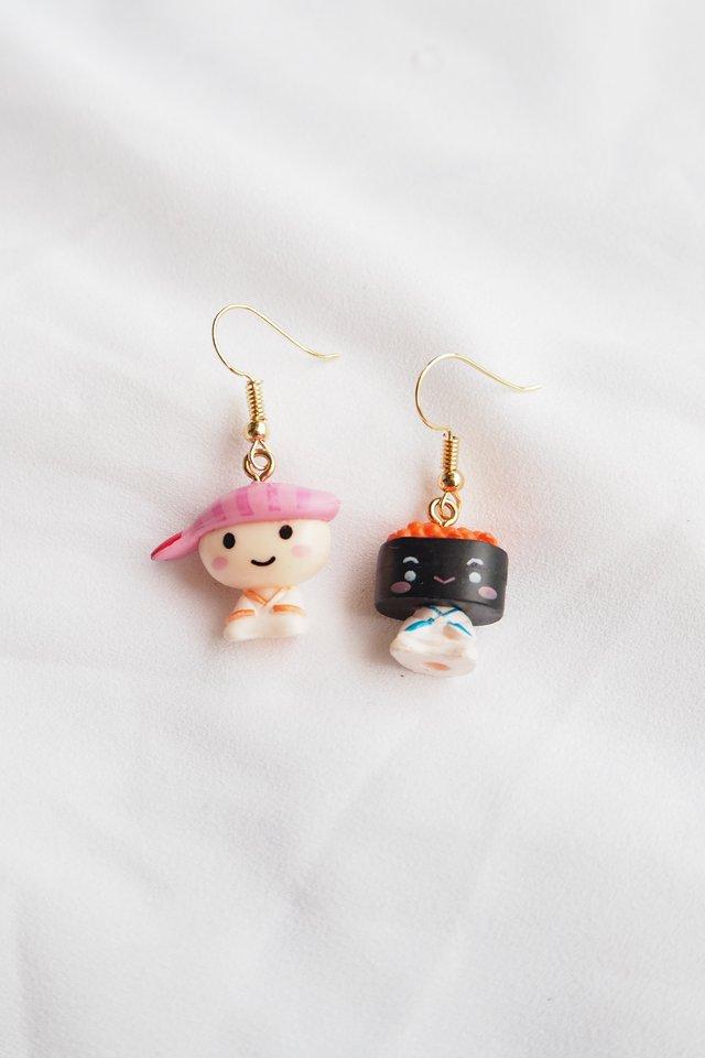 Sushi Friends Earrings