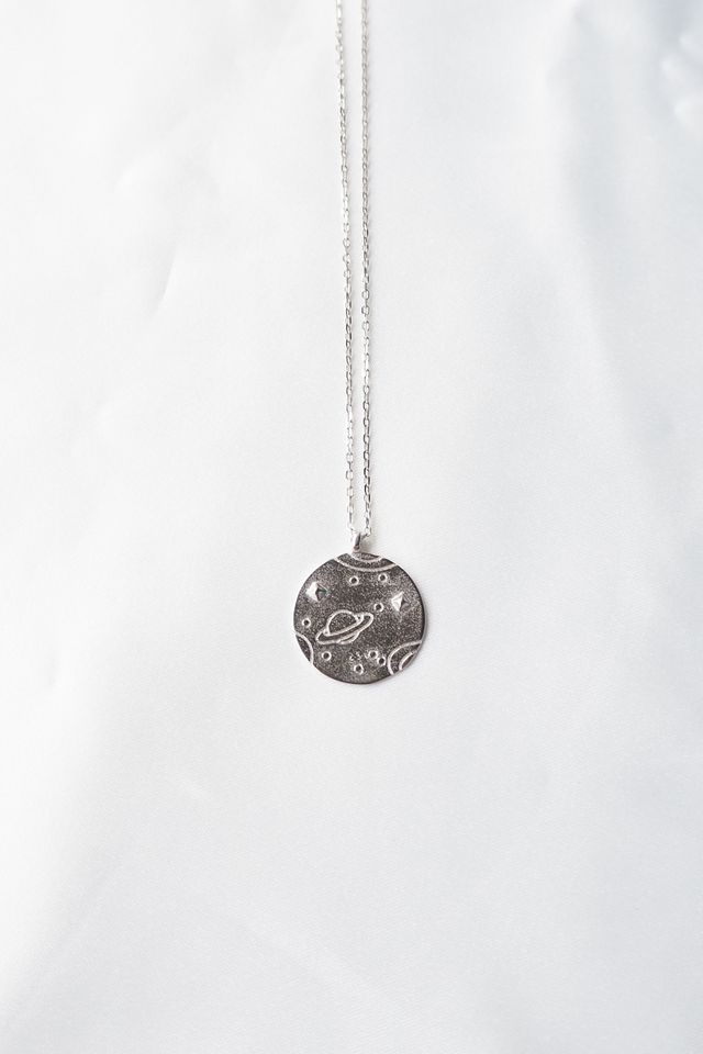 Outerspace Necklace (Silver)