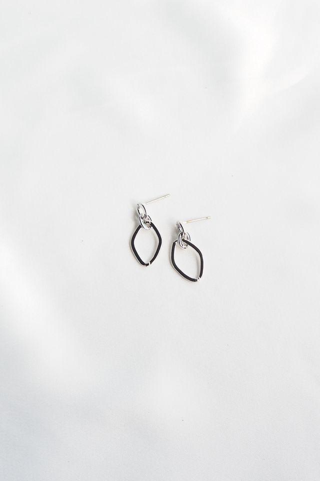 Mini Link Earstuds (Silver)