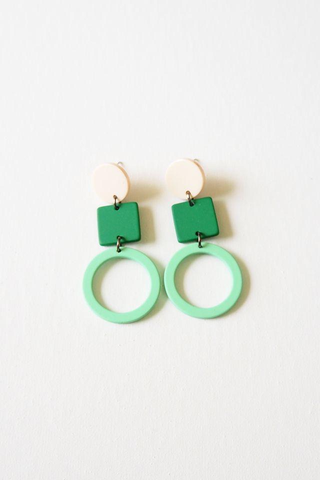 Tiff Earstuds (Green)