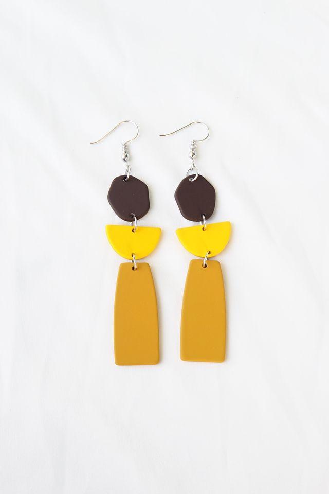 Muni Earrings (Mustard)