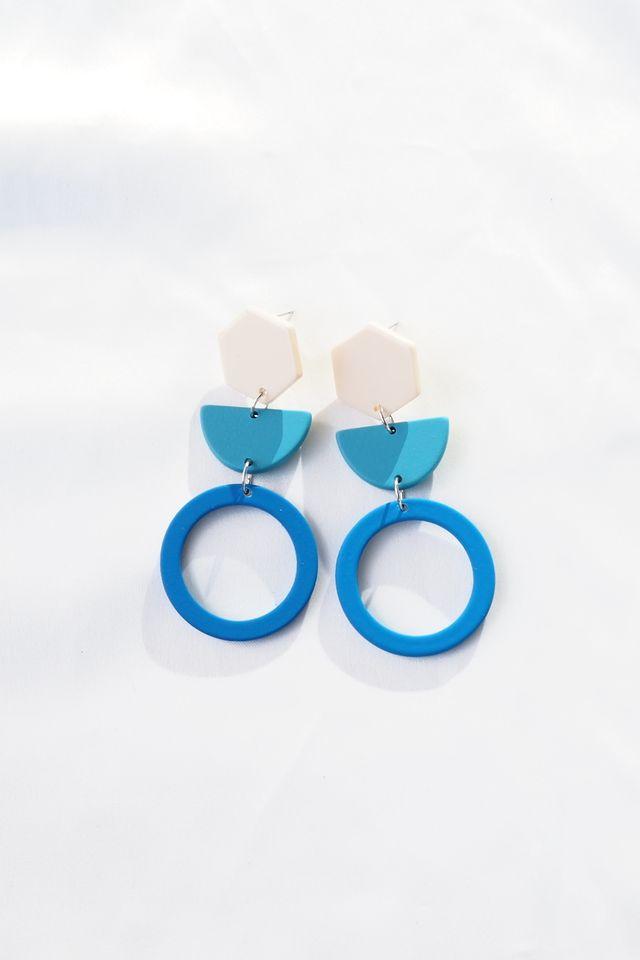 Tiff Earstuds (Blue)
