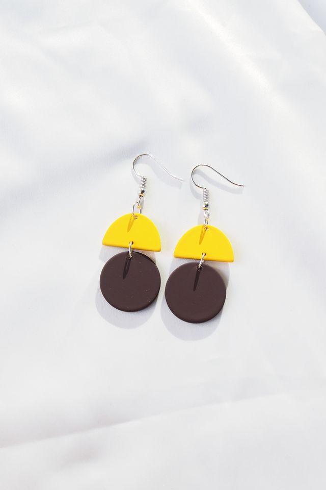 Sooj Earrings (Brown)