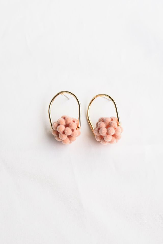 Rollie Earstuds (Apricot)