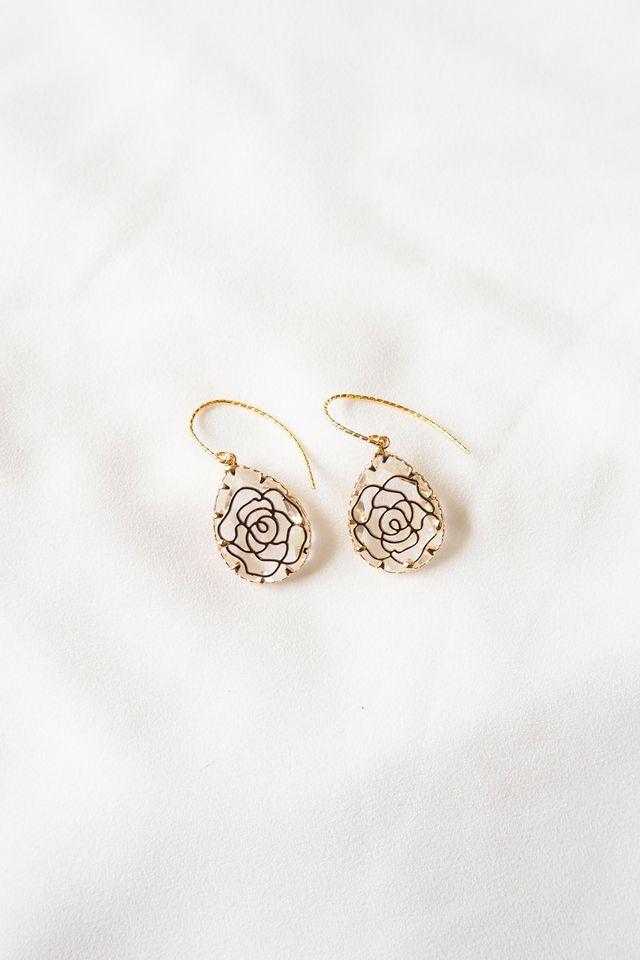 Camelia Crystal Earrings