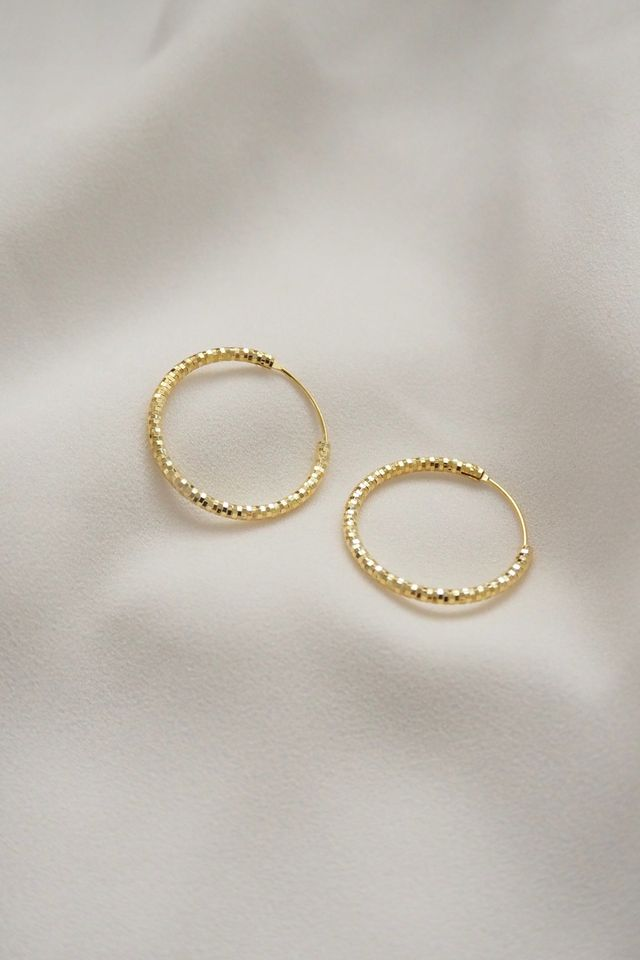 Sheena Hoops (Gold)