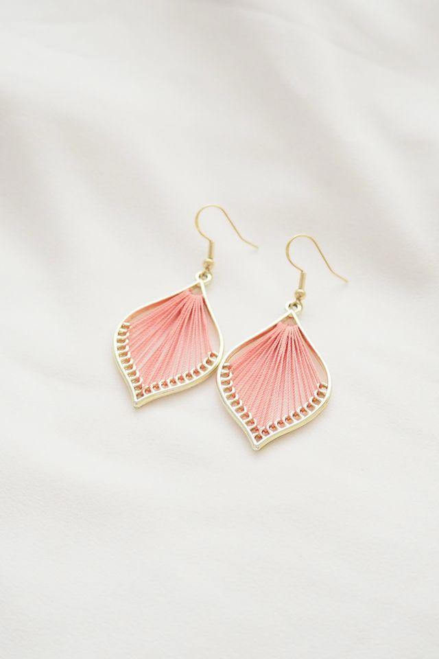 Cory Earrings (Pink)