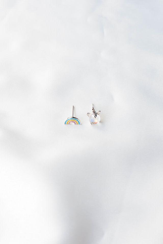Rainbow & Unicorn Earstuds