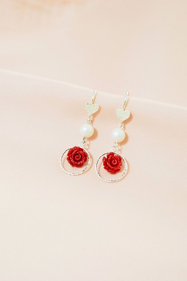 Rosie Heart Earrings
