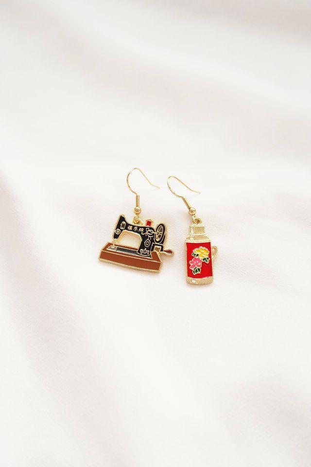 Retro Earrings (A)