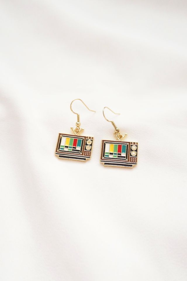 Vintage TV Earrings