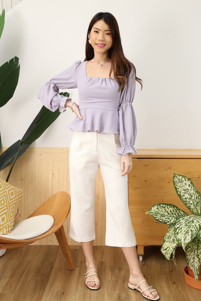 Puffy Princess Top in Lilac [XS/S/M/XL]