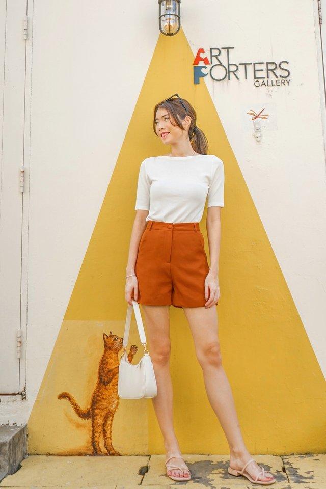 Basic Shorts in Camel [S/XL]