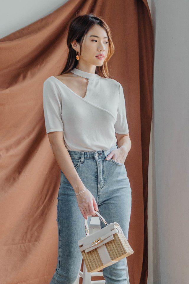 Oversized Cut Out Top