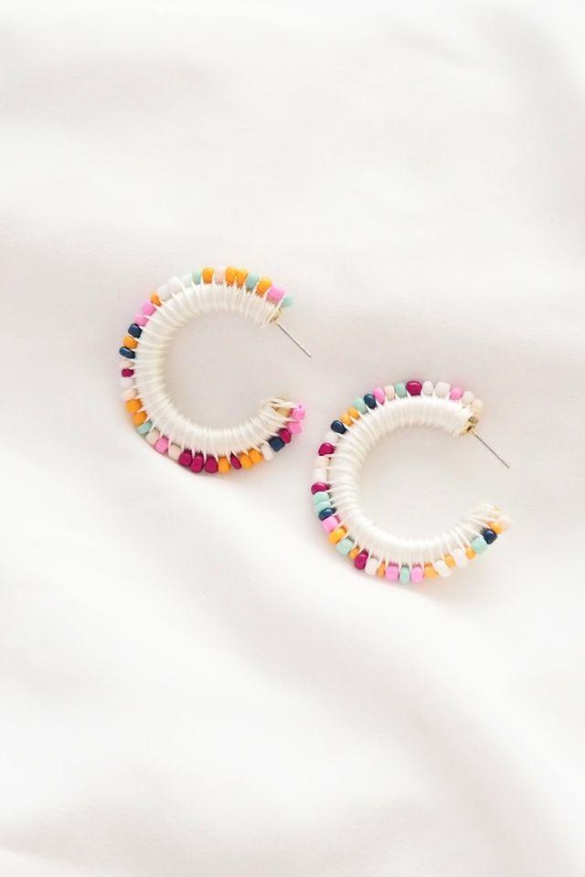 Myna Colourful Hoops