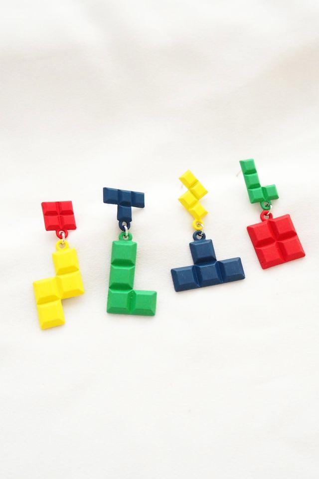 Tetris Earstuds Set