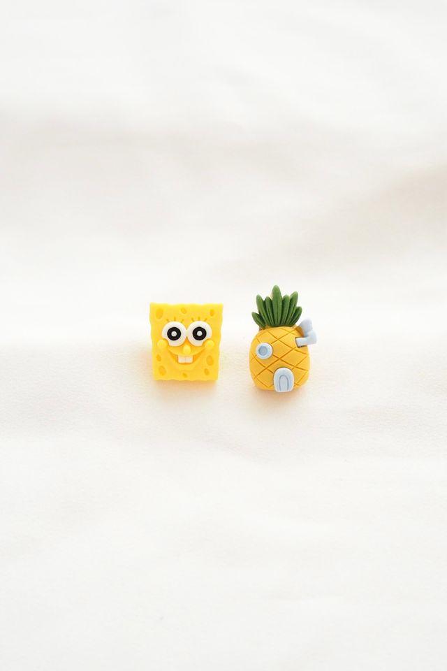 Spongebob Earstuds