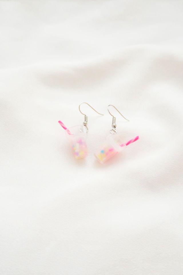 Unicorn Milkshake Earrings