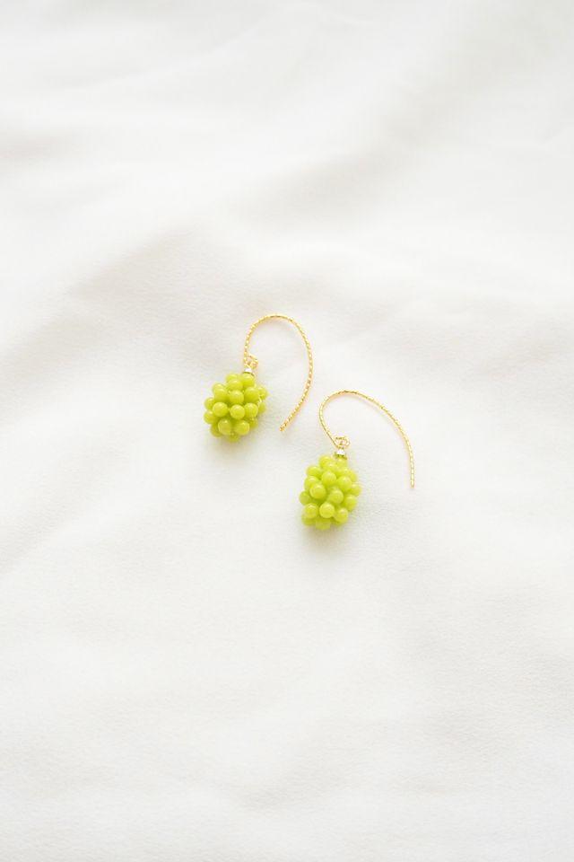 Green Grapes Earrings