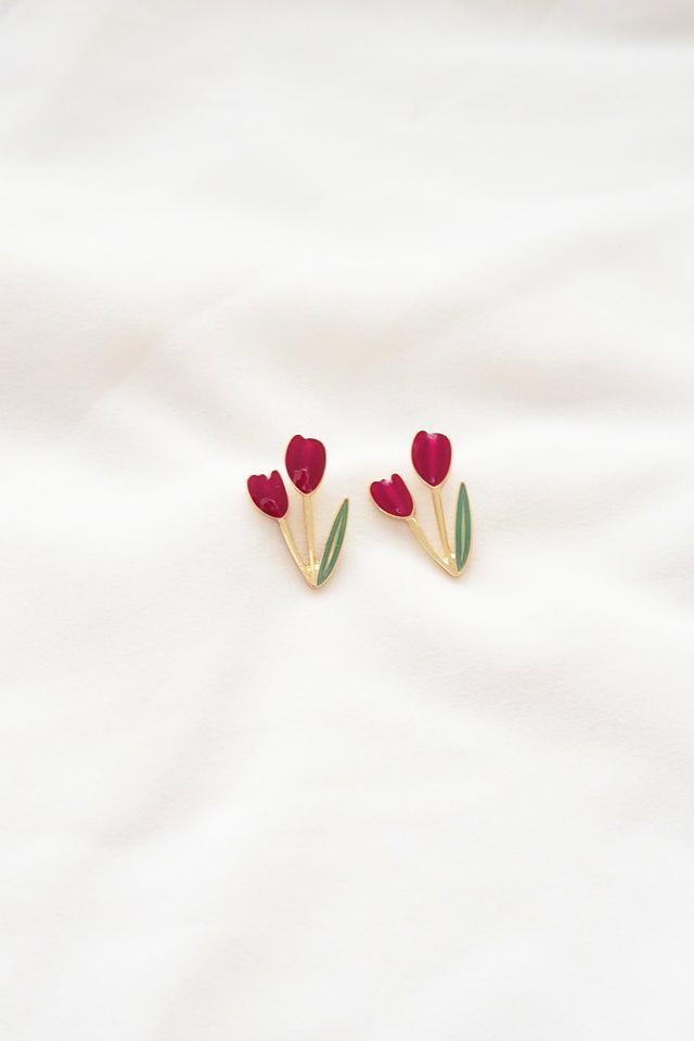 Tulip Earstuds