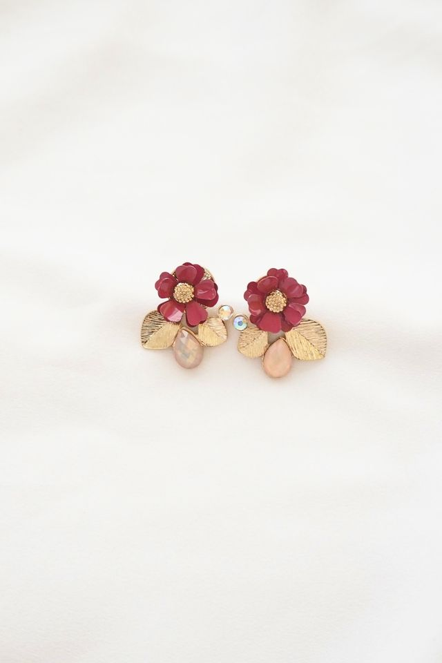 Monic Flower Earstuds