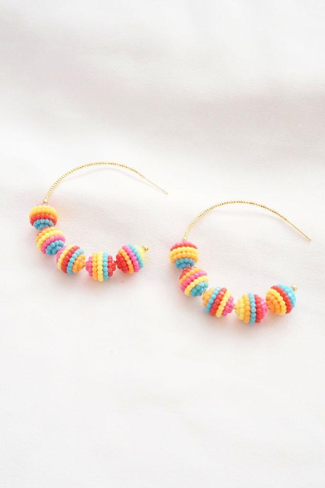 Rainbow Balls Hoops