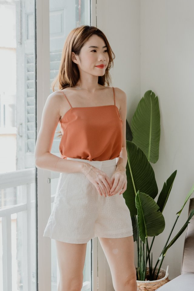 Basic Camisole in Camel