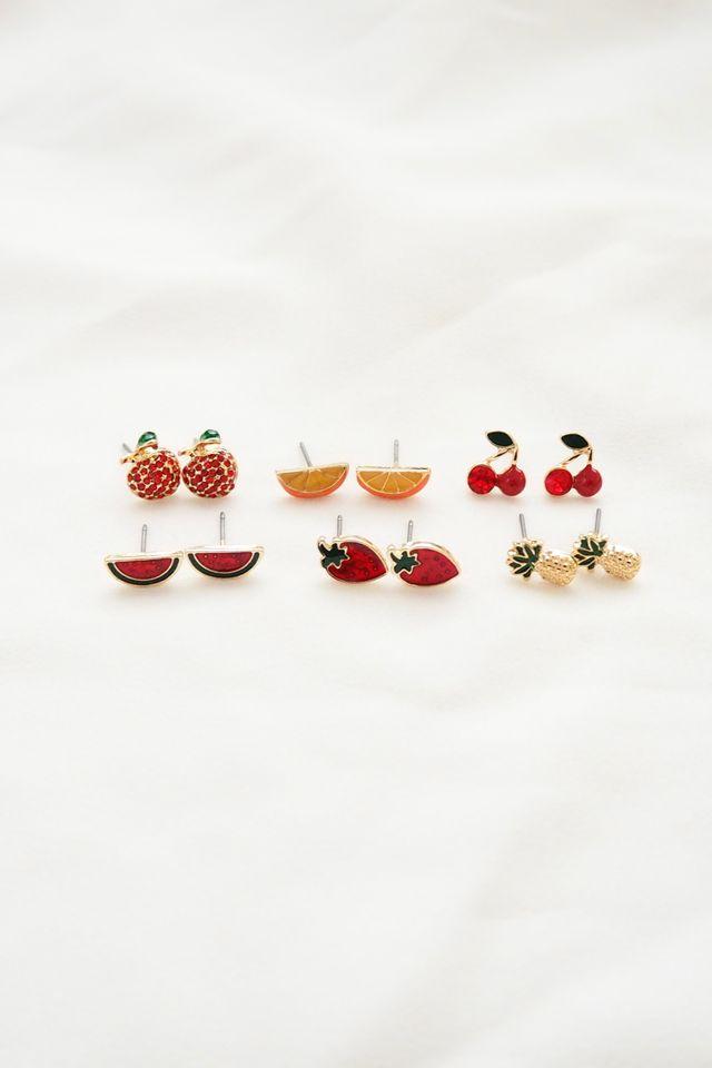Fruits Earstuds Set