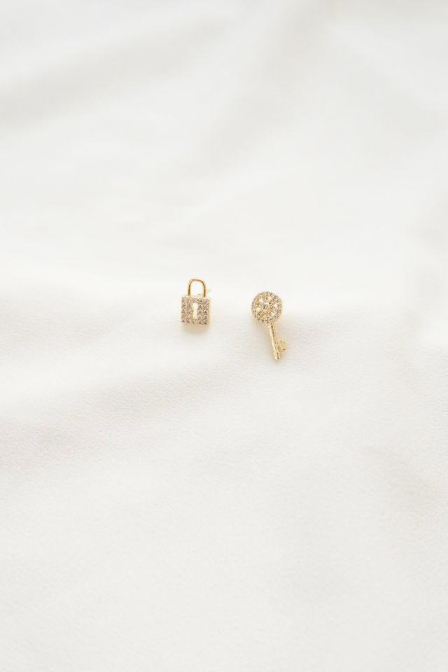 Lock & Key Earstuds