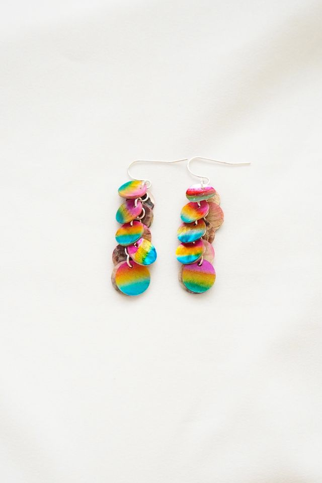Rainbow Shells Earrings