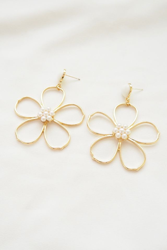 Heather Flower Earstuds