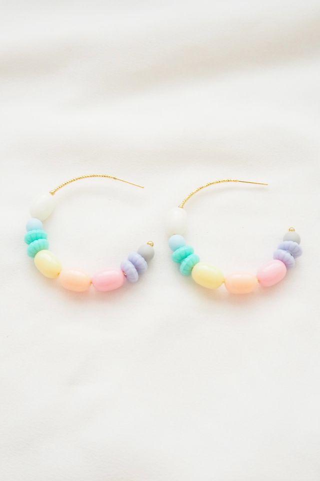 Rainbow Mix Hoops (10)