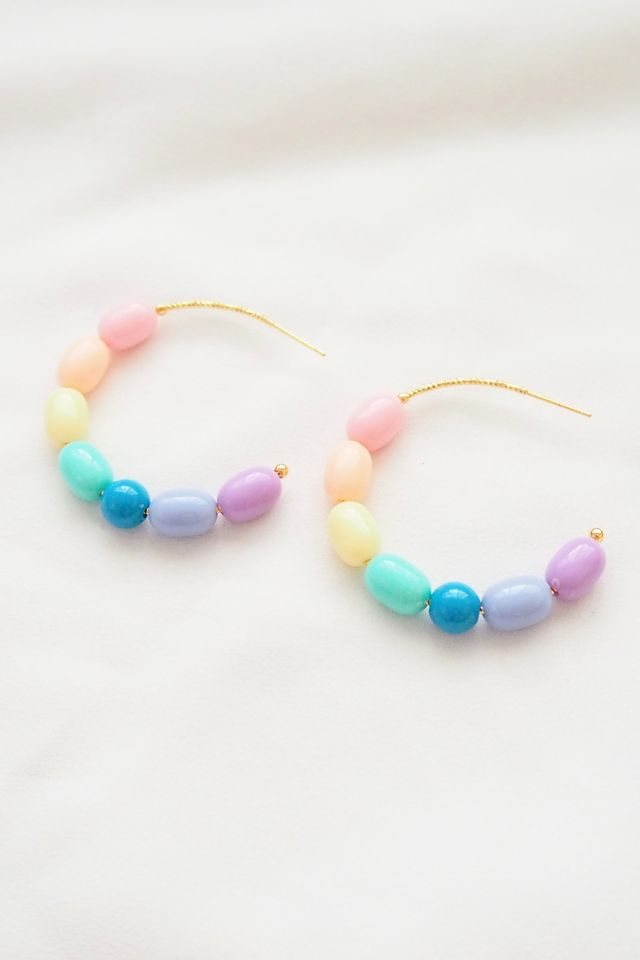 Rainbow Mix Hoops (15)