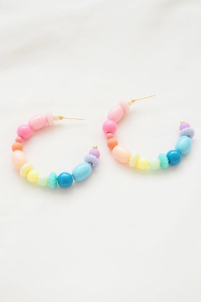 Rainbow Mix Hoops (20)