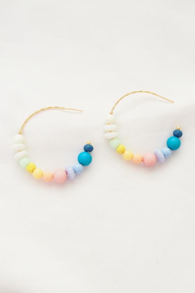 Rainbow Mix Hoops (24)