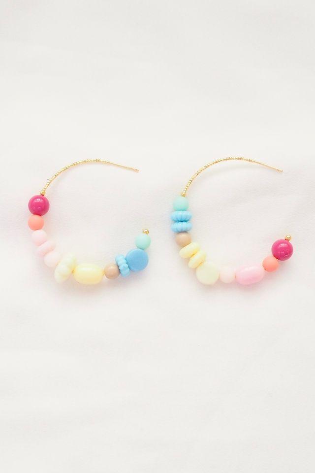 Rainbow Mix Hoops (25)