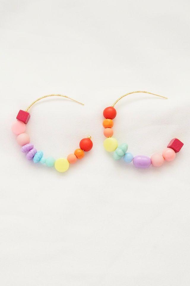 Rainbow Mix Hoops (30)