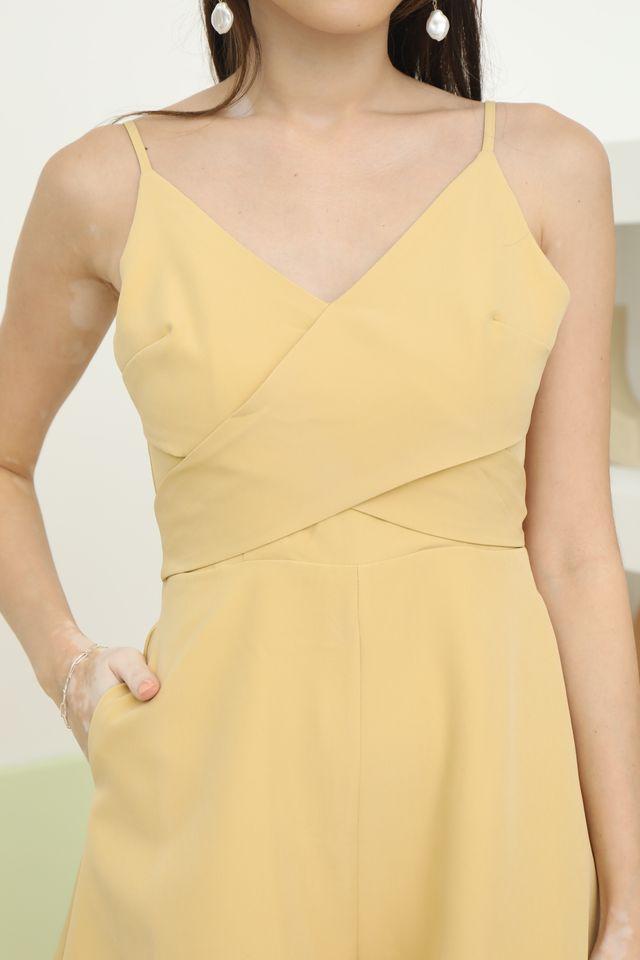 Shina Romper in Yellow