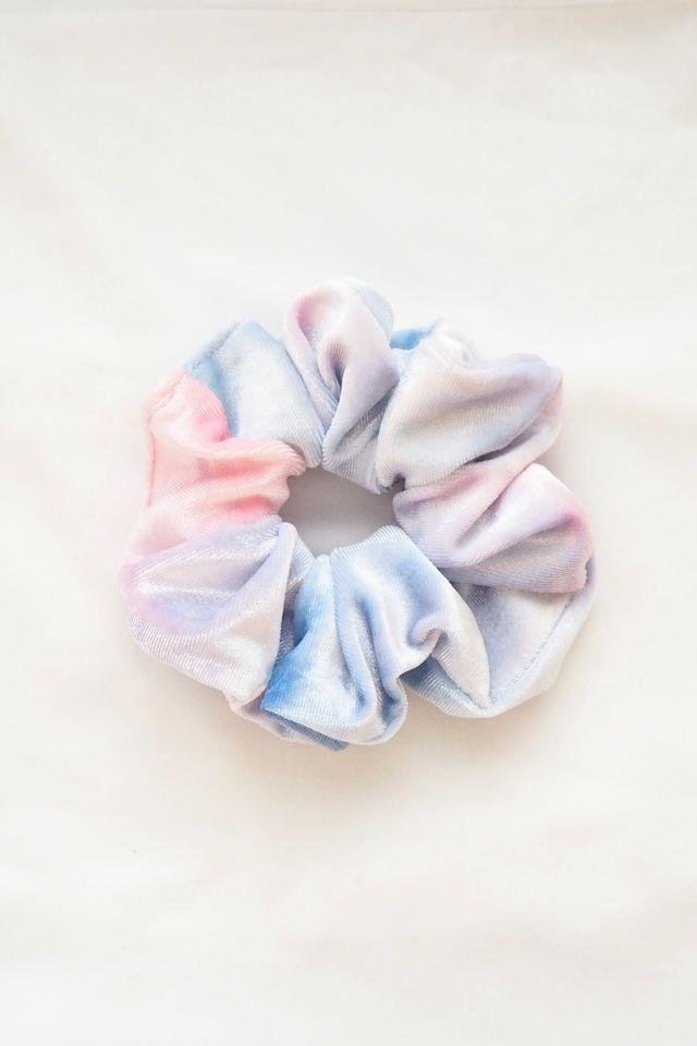 Scrunchie in Velvet Paddlepop