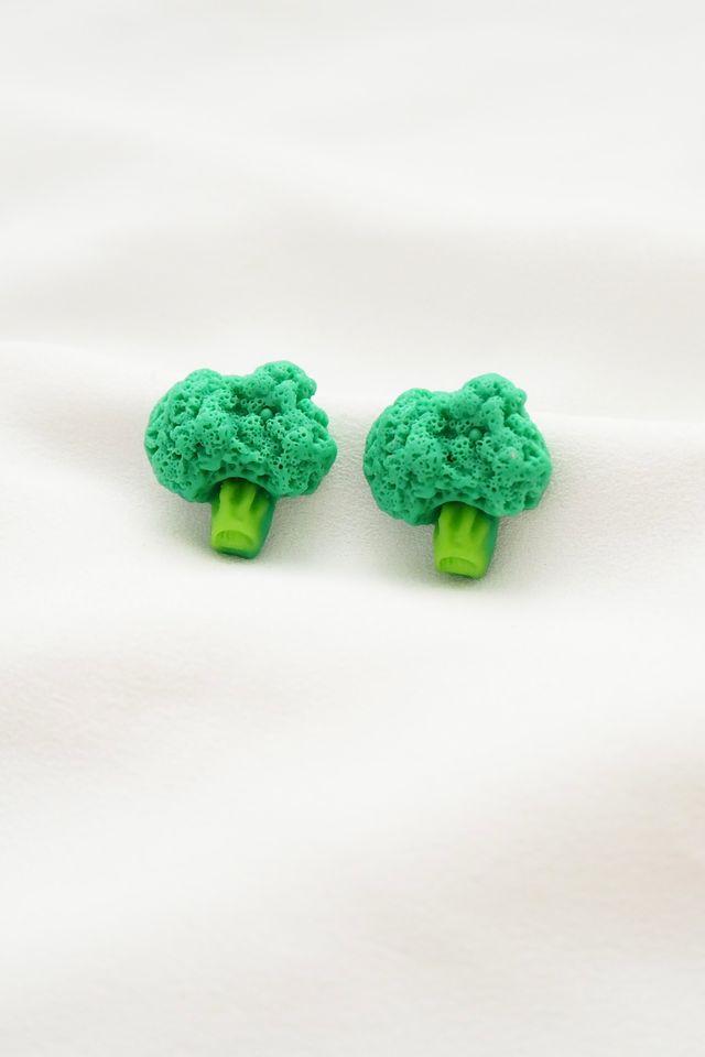 Broccoli Earstuds