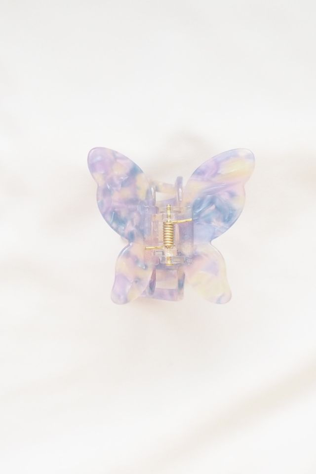 Large Butterfly Clip in Psychedelic
