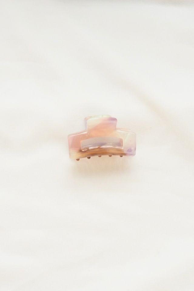 Mini Claw Clip in Magenta