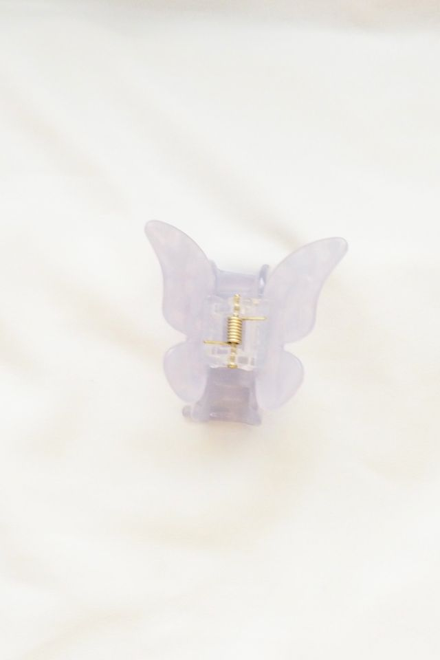 Medium Butterfly Clip in Lilac