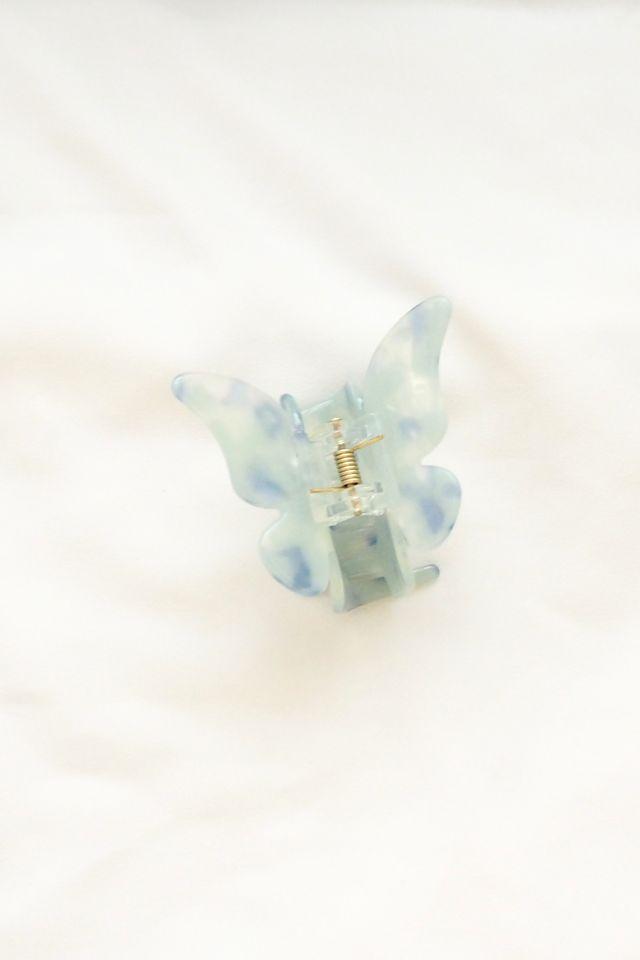 Medium Butterfly Clip in Blue