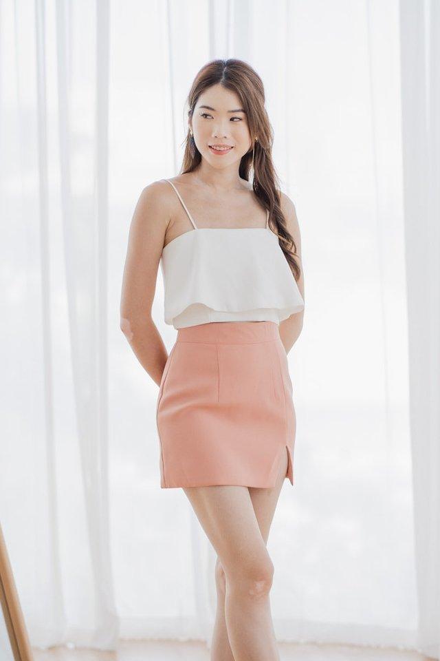 Slit Skirt in Pink