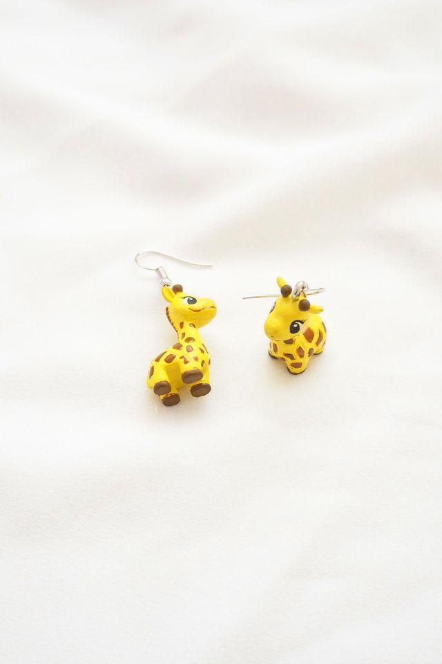 Baby Giraffe Earrings