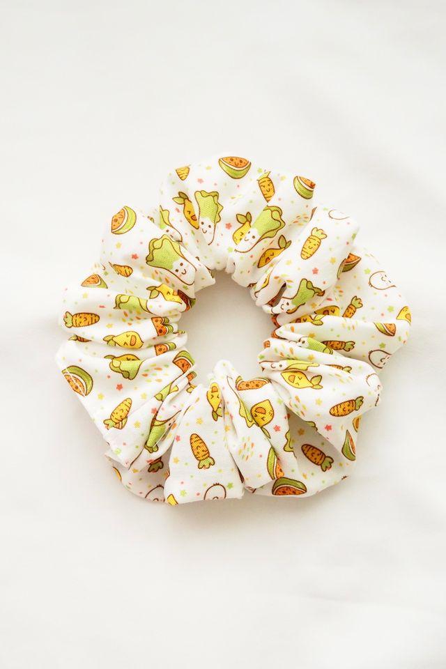 Scrunchie in Cute Fruits