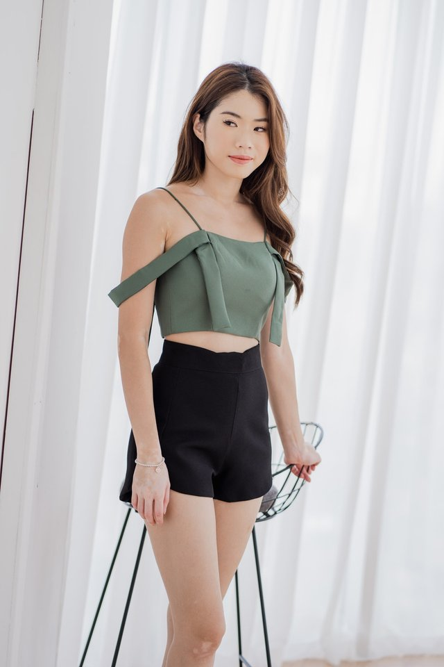 Strappy Top in Sage